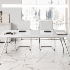 Rectangle Metal dining table