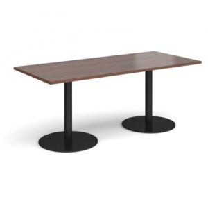 rectangular-dining-table-with-round-chrome-base (2)