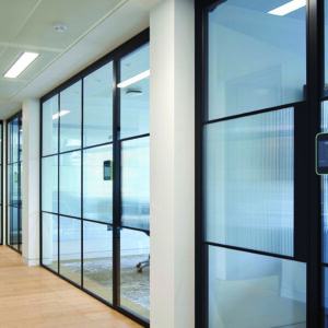Partition P3 Single glass strips