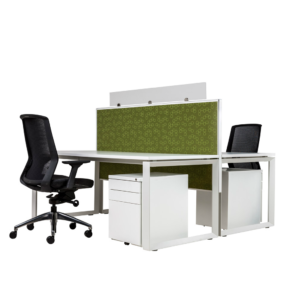 4 person workstation high partition