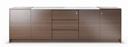 Roma HC 2O2D high cabinet table MDF 2 doors & 10 shelives 160 x45 Roma LC 4D4DR Low cabinet table MDF 4 doors & 4 drawers 240x45 Roma LC 4D Low cabinet table MDF 4 doors & 4 drawers 160 x45